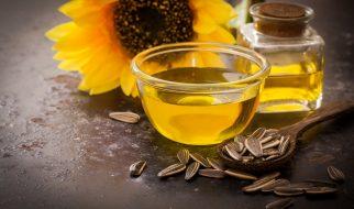 Sonnenblumenöl und Haarpflege mit Ölen